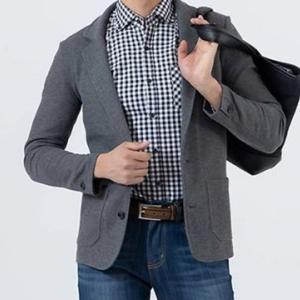 【スマートカジュアル】テーラードジャケット/シャツ/Tシャツ/パンツ (4点) 商品番号 C9286
