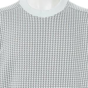 【ニットセーター】MIX鬼ワッフルクルー (ホワイト) 商品番号 S5915