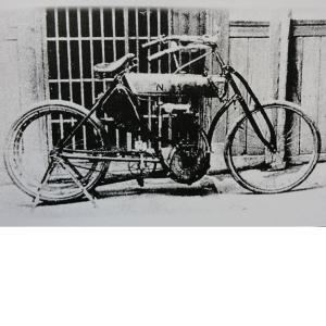 島津モーターNS号 純粋な国産車第1号