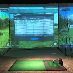 【ゴルフ】個人練習 ボールスピード