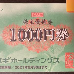 【株主優待】スギ薬局の優待が届きました!!