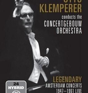 クレンペラー&コンセルトヘボウ管 ブルックナー 交響曲第4番他