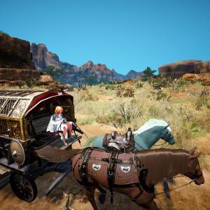 べリア村とハイデル間だけで馬車貿易してみた。【黒い砂漠冒険日誌117】