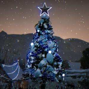 古代クロンの木にクリスマスの飾りをつけるだけでアイテムがもらえるなんて【黒い砂漠冒険日誌120】