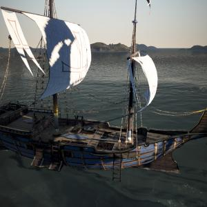 改良型エフェリア軽帆船できたど~!【黒い砂漠冒険日誌336】