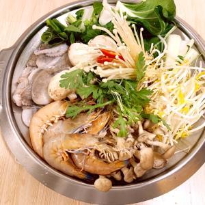 韓国の海鮮鍋【へムルチョンゴル】
