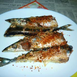 新物汐秋刀魚の塩焼き