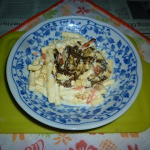 禁断の黒胡椒のマカロニ・サラダ
