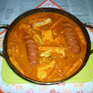 キャプスキ2でピリ辛粕鍋