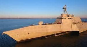 米海軍の新鋭艦ガブリエル・ギフォーズ  新型ミサイルシステムを搭載して太平洋へ