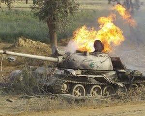 戦闘で破壊された中国製戦車 画像多数