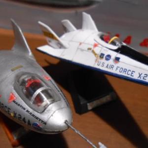 リフティングボディ実験機 X-24A X-24B ホビーコーナー