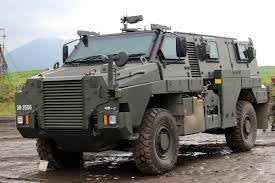☆ブッシュマスターやクーガーなど 軍用車両特集
