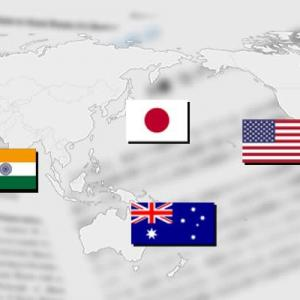 〇日本.米国.インド.豪 四ヶ国同盟具体的に動き出す
