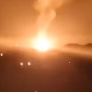 ☆北京近郊で大爆発発生! 動画など速攻で削除されている模様