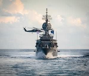 ☆日米印豪 クアッド四ヶ国艦艇によるマラバル2020 共同訓練の様子