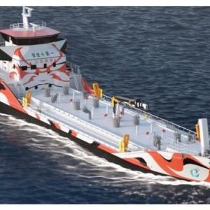 ☆カワサキ 世界初となるバッテリー推進タンカー建造へ