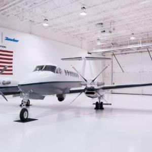 ☆陸自が固定翼機ビーチクラフトキングエア350の最新モデルを取得
