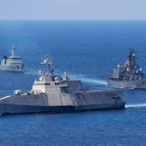☆スリランカで行われた海上自衛隊と米海軍 スリランカ軍との共同訓練の様子
