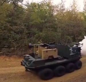 ☆米陸軍の新型無人戦闘車両 RCV/RoboticCombatVehicleを見る