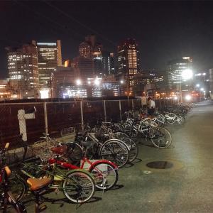 【大阪】夜景、駐輪場