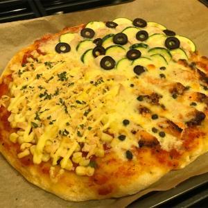 Trader Joe's トレジョのピザ生地で美味しいピザを作ってみた