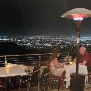 """【サンノゼ】夜景の綺麗なレストラン """"Mount Hamilton Grandview Restaurant"""""""