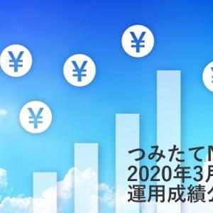 つみたてNISA【2020年3月運用成績】楽天・インデックス・ファンド