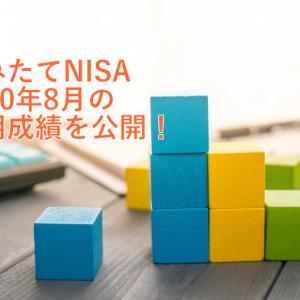 つみたてNISA【2020年8月運用成績】楽天・インデックス・ファンド