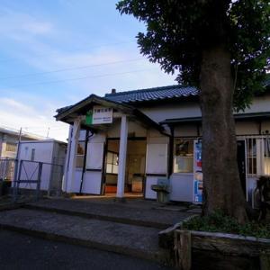 下総松崎から北総台地の高所へ。