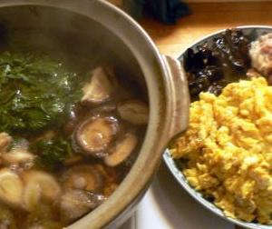 炒め物盛り合わせ?|生鱈と白子の煮物 あとは4種の炒め物盛り合わせ
