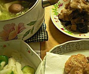 飯だけならこれで十分2|ナスと豚バラ味噌炒め 温野菜 サバ竜田揚げ 浅漬け
