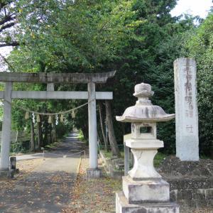 式内社・安房神社(あわじんじゃ)