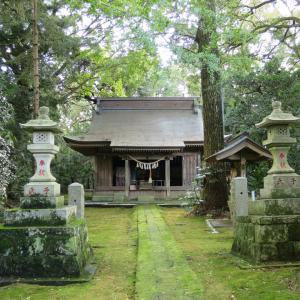 式内社・子安神社(こやすじんじゃ)/茨城県かすみがうら市
