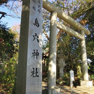 式内社・島穴神社(しまあなじんじゃ)/千葉県市原市
