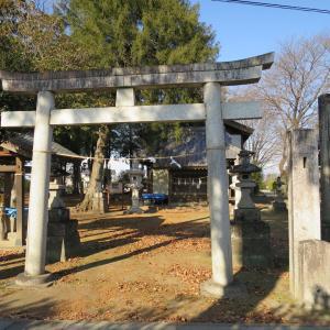 式内社・熊野神社(くまのじんじゃ)/埼玉県児玉郡神川町