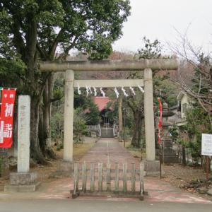 式内社・阿豆佐味天神社(あずさみてんじんじゃ)/東京都西多摩郡瑞穂町