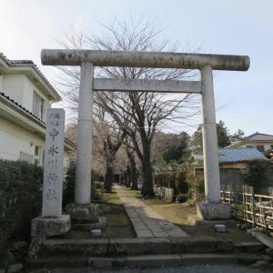式内社・中氷川神社(なかひかわじんじゃ・三ケ島)/埼玉県所沢市