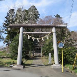 式内社・有賀神社(ありがじんじゃ)/茨城県水戸市