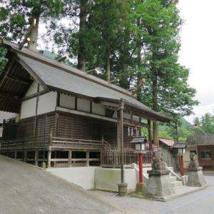 奥氷川神社(おくひかわじんじゃ)/東京都西多摩郡奥多摩町