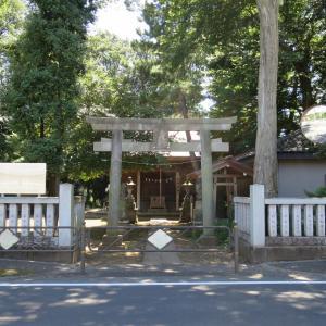 式内社・虎狛神社(こはくじんじゃ)/東京都調布市