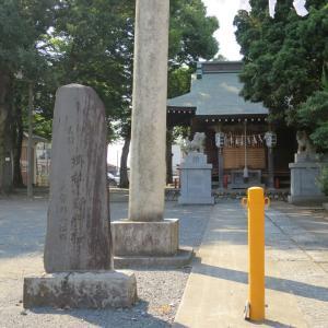 式内社・小野神社(おのじんじゃ)/東京都府中市