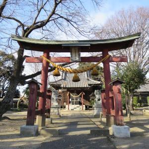 式内社・奈良神社(ならじんじゃ)/埼玉県熊谷市
