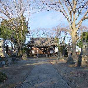 式内社・東別府神社(ひがしべっぷじんじゃ)/埼玉県熊谷市