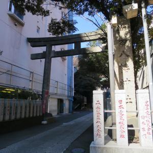 式内社・御田八幡神社(みたはちまんじんじゃ)/東京都港区