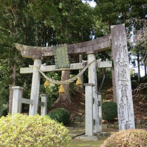 式内社・遠賀神社(おがじんじゃ・井岡)/山形県鶴岡市