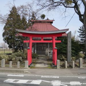遠賀神社(おがじんじゃ・外内島)/山形県鶴岡市