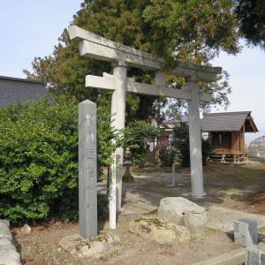 式内社・遠賀神社(おがじんじゃ・遠賀原)/山形県鶴岡市