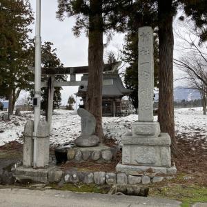 式内社・一宮神社(いちのみやじんじゃ)/新潟県南魚沼市