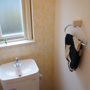 【プチDIY】トイレのタオル掛けを変えてみました!